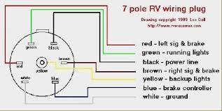 7 pin camper wiring diagram wiring diagram byblank