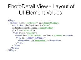 view layout alloy getting started with appcelerator alloy cross platform mobile devel