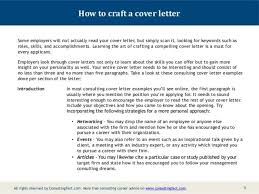membership consultant cover letter