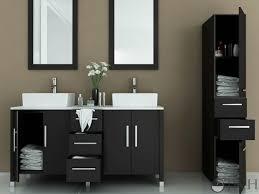 Vessel Sink Cabinets Jwh Living 59 U0026quot Sirius Double Vessel Sink Vanity Stone Top