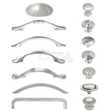 Brushed Nickel Cabinet Hardware EBay - Kitchen cabinet hardware brushed nickel