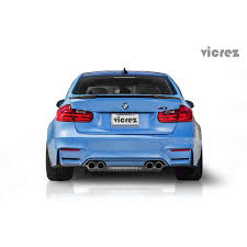 Bmw M3 Truck - bmw m3 f80 2012 2016 vz style carbon fiber rear wing spoiler