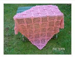 pb 104 rose trellis baby blanket imaginecrochet