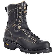 Most Comfortable Mens Boots Men U0027s Georgia Boots Comfort Core Gore Tex Waterproof Logger