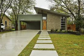 Modern Carport Modern Carport Design Ideas Exterior Midcentury With Front Door