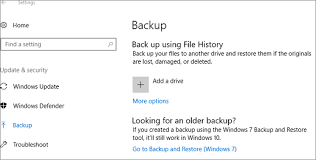 tutorial windows 10 in romana back up and restore your files