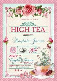 bridal tea party invitation vintage tea party bridal shower invitations kawaiitheo