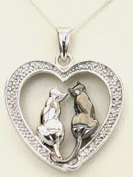 cat necklace silver images Things aint always black and white jpg