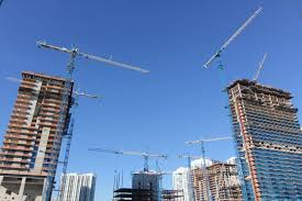 terex tower cranes dominate miami mixed use development