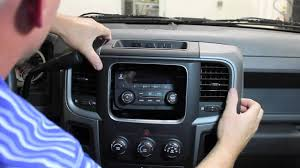 dashboard dodge ram 1500 replacement 2013 2015 ram truck radio removal