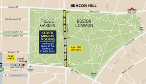 Street Map Of Boston by Transportation To Start Line