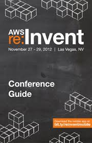 aws re invent 2012 conference guide