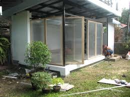 bantilan residence modern garage and house extension