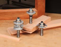 how to router cabinet doors for glass three piece glass cabinet door making router bit set woodworking
