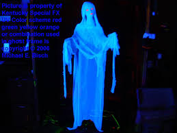 halloween ghost lights halloween hanging ghost prop blue lady decoration