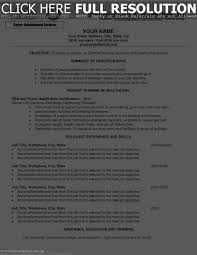 Sample Resume Objectives For Volunteer by Cna Resume Objective Statement Examples Free Resume Example And