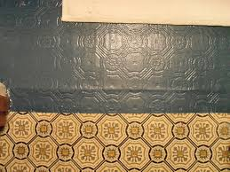 Diy Bathroom Floor Ideas - painting tile floors diy decor idea with painted faux tile