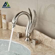 Swan Bathroom Faucet Online Get Cheap Nickel Bathroom Faucet Aliexpress Com Alibaba