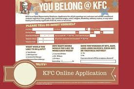 image gallery kfc application form online