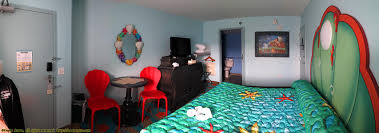 little mermaid room in art of animation resort apartment ideas