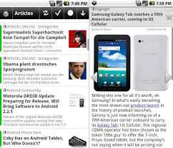 rss reader android newsrob offline rss reader for android java mobile phones