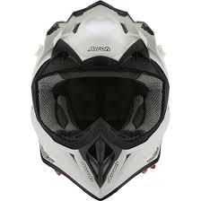 airoh motocross helmet airoh aviator 2 2 white gloss helmet motocard