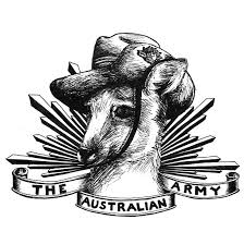 army kangaroo tattoo design