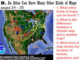 what is a climate map lesson 6 an atlas pages mr bondurant ppt