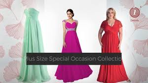 special occasion eye catching plus size dresses featured on