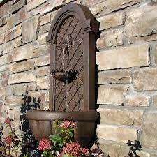 amazing ideas outdoor wall fountain magnificent outdoor garden