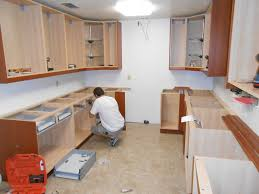 installing kit cool how to hang kitchen cabinets fresh home