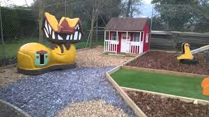 private garden childrens play area youtube
