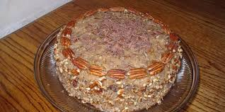 german chocolate layer cake with coconut pecan frosting recipe