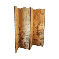 Folding Screen Room Divider Antique Folding Screen Room Divider Partition Tapestry Fabric