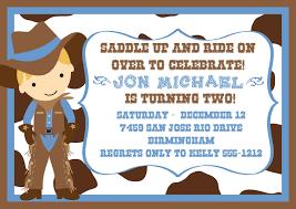 cowboy birthday invitations u2013 gangcraft net