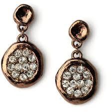 rhinestone chandelier earrings bronze dangle earrings rhinestone chandelier earrings brow