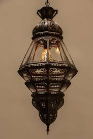 Moroccan Sconce Moroccan Clear Glass Lantern For Sale At 1stdibs
