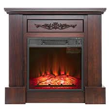 akdy 32 in freestanding electric fireplace insert heater in black