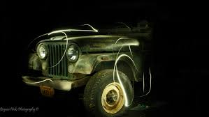 old jeep tried light painting on an old jeep this weekend jeep