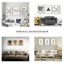Home Goods Art Decor by 5 Piece Print Pictures Canvas Decorative Hanging Modern Decor Home