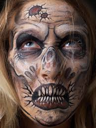 trend zombie face paint ideas 48 in awesome room decor with zombie