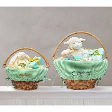 personalized wicker easter baskets personalized easter baskets ideas for all ages southern living