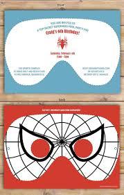 Spiderman Invitation Cards 25 Best Jordan U0027s Spiderman Party 5th Birthday Images On Pinterest