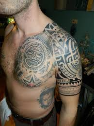 Chest And Half Sleeve - maori chest and half sleeve by craigwright on deviantart