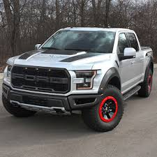 Ford Raptor Red - ford performance m 1021 f15rd1 raptor f 150 bead lock wheel trim