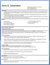 World S Best Resume by Medical Technologist Resume Berathen Com