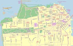 San Francisco Map Pdf Maps Update 21051488 Tourist Attractions Map In San Francisco