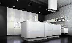 cuisine blanche sol noir la cuisine laquée une survivance ou un hit moderne