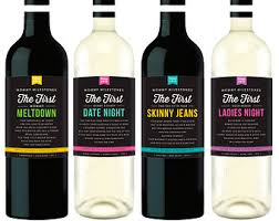 Good Wine For Gift New Mom Gift Wine Labels From 4 Labels Mommy Milestones