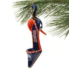 edmonton oilers team high heel shoe ornament shop nhl